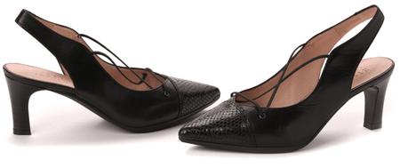 Hispanitas női magassarkú cipő 36 fekete