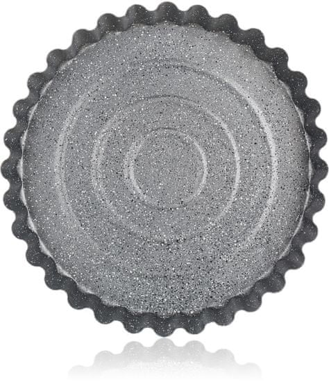 Banquet Forma vlnitá na koláč GRANITE 28,5x3,5 cm