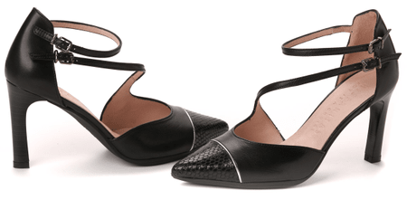 Hispanitas női magassarkú cipő 37 fekete