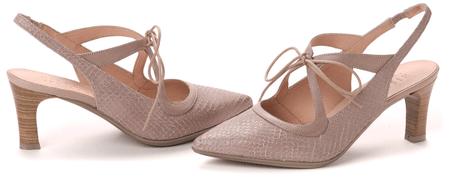 Hispanitas női magassarkú cipő 37 bézs