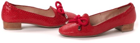 Hispanitas czółenka damskie 38 czerwony