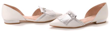 Hispanitas dámské baleríny 38 stříbrná