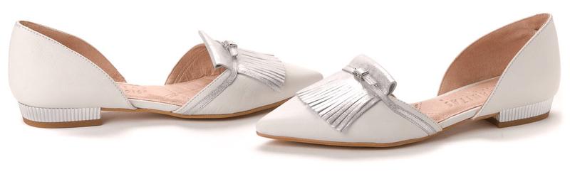 Hispanitas dámské baleríny 41 stříbrná