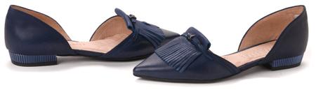 Hispanitas női balerina cipő 40 kék