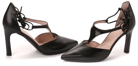 Hispanitas női magassarkú cipő 39 fekete