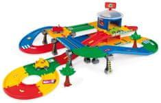 Wader Kid Cars 3D Garáž s dráhou 5,5m