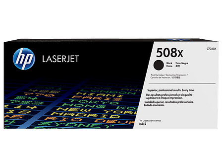 HP toner 508X, črn (CF360X), 12500 strani