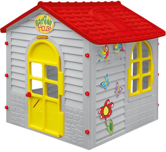 Mochtoys Malý zahradní domek šedý