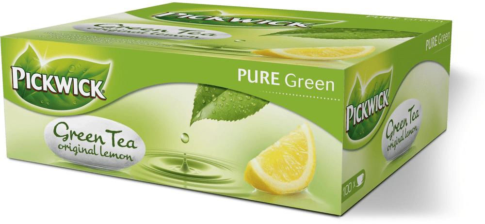 Pickwick Zelený s citronem 100 sáčků