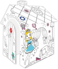 Mochtoys Omaľovánkový domček princeznej