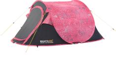 Regatta namiot samorozkładający się Malawi 2 Pink/Seal Grey
