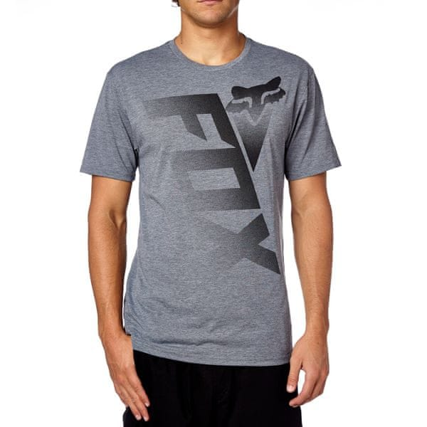 FOX pánské tričko Shiv Ss Tech S šedá