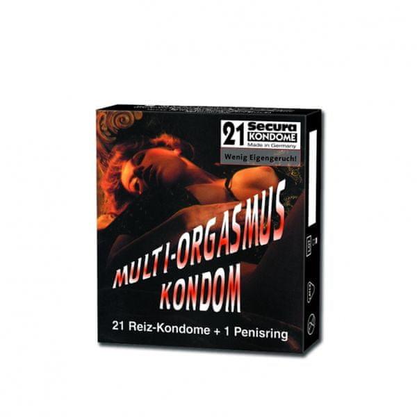 Secura Kondomy - Multi orgasmus (12ks)