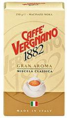 Vergnano Gran Aroma Bar, mletá 4 x 250g