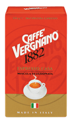 Vergnano Espresso Casa, mleta kava, 4 x 250 g