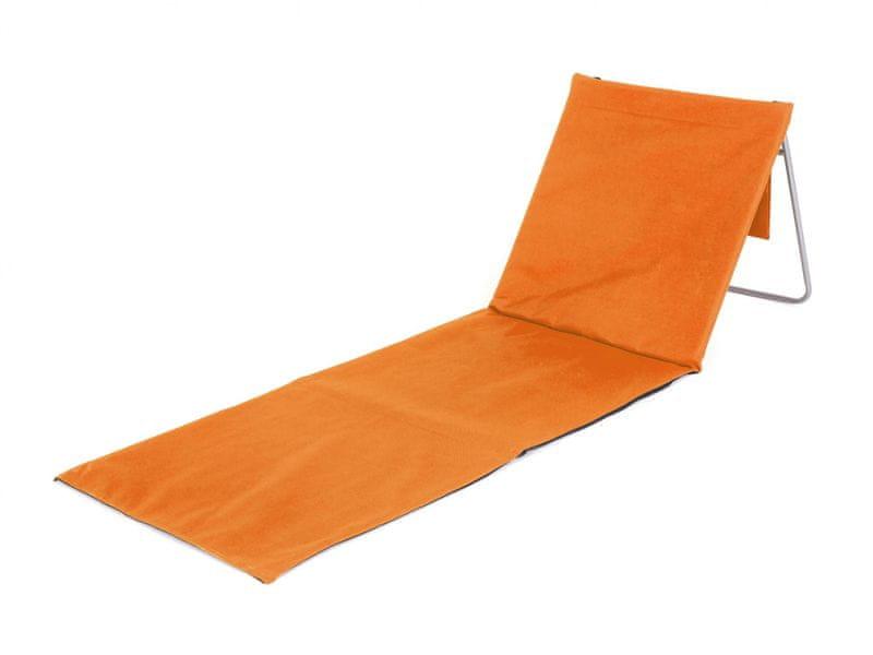 Happy Green Plážová podložka AUSTIN oranžová