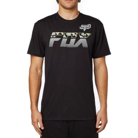 FOX pánské tričko MakoSsTech L černá