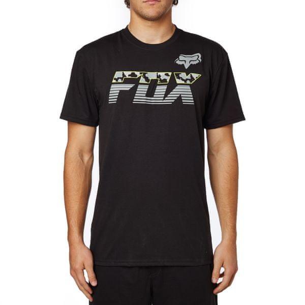 FOX pánské tričko Mako Ss Tech S černá