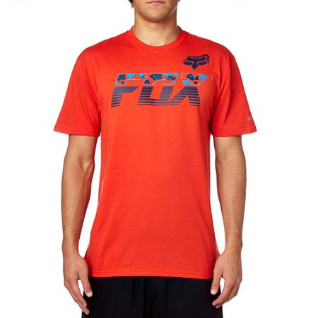 FOX pánské tričko MakoSsTech S oranžová