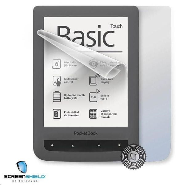 SCREENSHIELD ochranná fólie na celé tělo pro PocketBook 624 Basic Touch