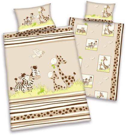 Herding Jana Žirafa otroška posteljnina