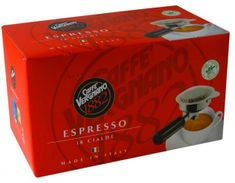 Vergnano Espresso kávépárna, 4x18 db
