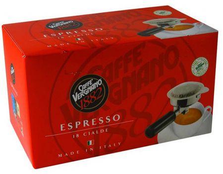 Vergnano Espresso kava v filtru, 4 x 18 kosov