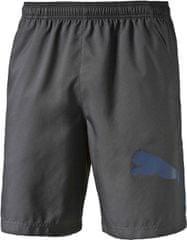 Puma moške hlače Pt Ess Dry Branded Wvn Short, sive