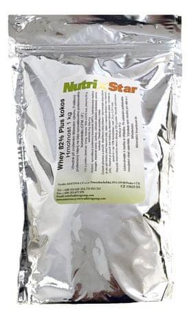 NUTRISTAR Whey 82 plus 1kg sáček kokos