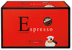 Vergnano Espresso pody 6 x 18 ks