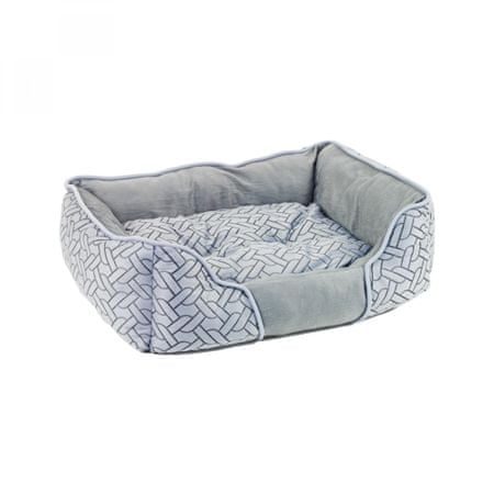 Akinu pasja postelja, srebrna, XS