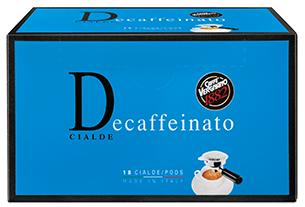 Vergnano Decaffeinato pods 6 x 18ks