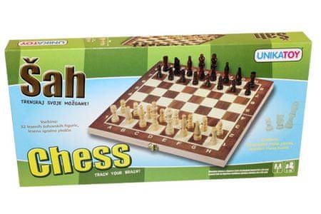 Unikatoy leseni šah 23898, 34x34 cm
