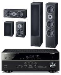 Yamaha HTR-4068 + Magnat Monitor Supreme 1002 set, čierna