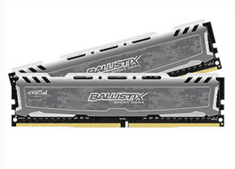 Crucial pomnilnik 32GB Kit (16GBx2) DDR4 2400 CL16 1.2V DIMM Ballistix Sport LT
