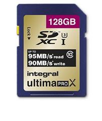 Integral spominska kartica 128GB SDXC UltimaPro X CLASS10 95MB