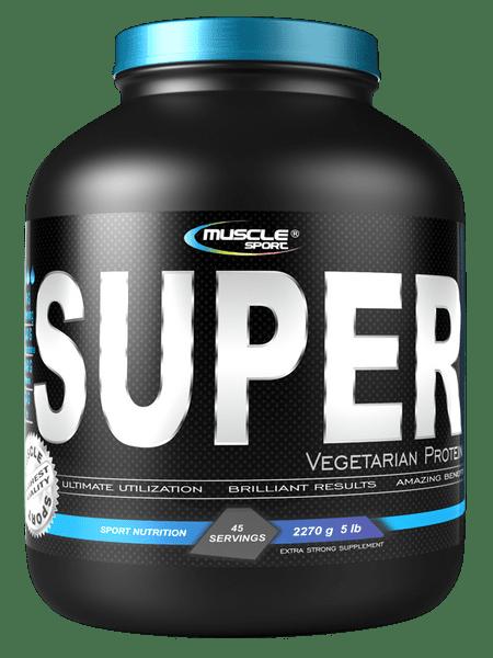 Musclesport Vegetarian super Protein 1135g vanilka