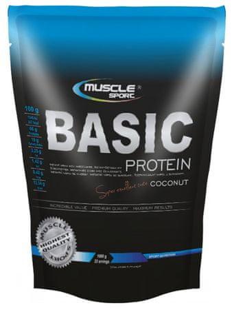 Musclesport Basic Protein 1000g čokoláda