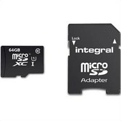Integral memorijska kartica 64GB Micro SDXC class10 90MB/s + adapter