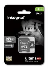 Integral memorijska kartica 8GB Micro SDXC class10 80MB/s + adapter