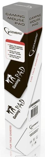 C-Tech Podložka MP-GAME-L, černá, herní