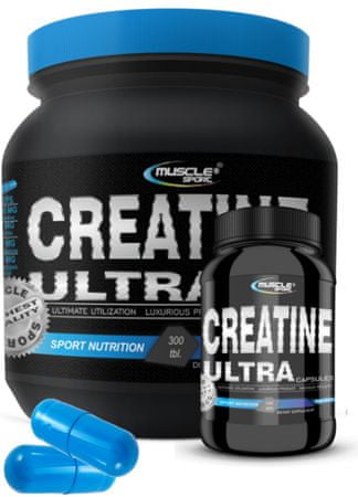 Musclesport Creatine Ultra caps. 300tbl