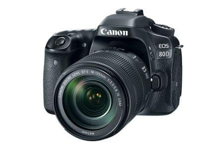 Canon digitalni fotoaparat EOS 80D + EF18-135IS USM