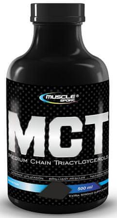 Musclesport MCT olej 500ml