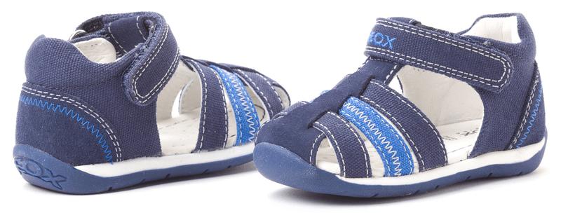 Geox dětské sandály 24 modrá