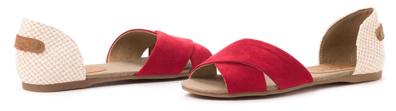 s.Oliver dámské sandály 41 červená