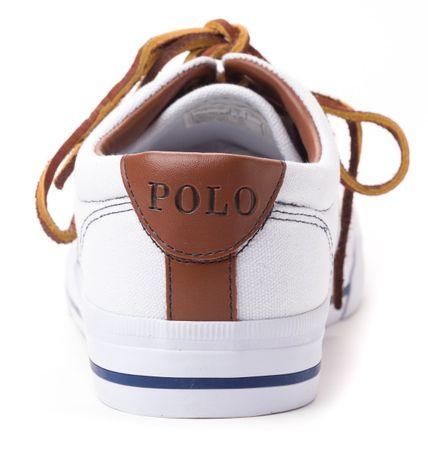 Polo Ralph Lauren pánské tenisky Vaughn 42 bílá  a896dc4c97