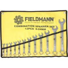 Fieldmann komplet viličasto obročnih ključev FDN 1010, 12 kom