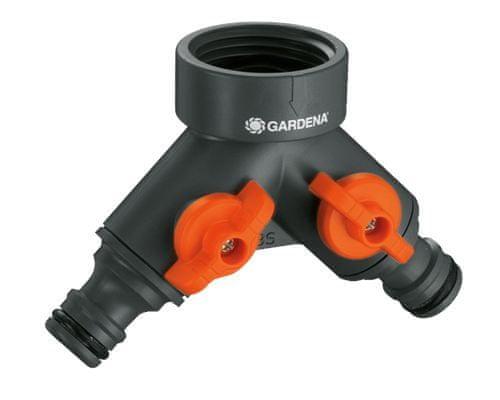 """Gardena 2-cestný ventil 3/4"""" + 1"""" 0940-20"""