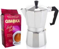 Gimoka Zestaw Moka - kawiarka+Gran Gusto 2x250g